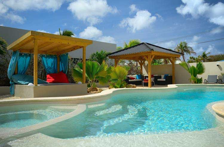 Appartement met zwembad All Seasons Apartments Bonaire