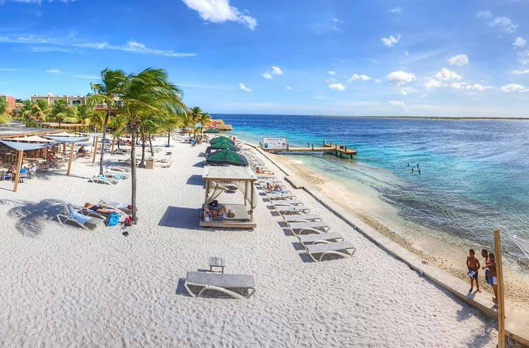 Eden Beach Resort direct aan het strand van Bonaire
