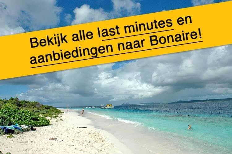 Last minutes en aanbiedingen Bonaire